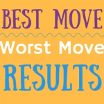 Finale Best Move/Worst Move Results